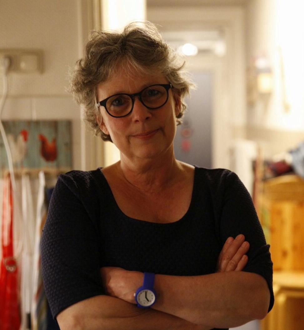 Mirjam van Gent, werkzaam bij de pedagogische zorg in het Beatrix Kinderziekenhuis