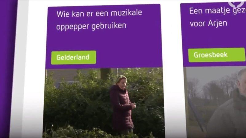 Gelderland helpt ober de Liedjesmobiel
