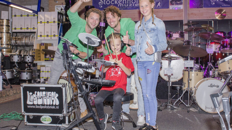 Wens in vervulling door Liedjesfabriek, Make A Wish en Muziekwinkel Stockenhof